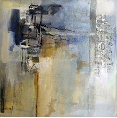 Qualia by  Katherine Chang Liu - mixed media on panel