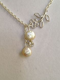 Wedding Necklace by joytoyou41 on Etsy, $30.00