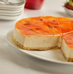 Esta é uma receita de uma sobremesa que é bastante saborosa! e como não podia deixar de ser, o ingrediente principal para uma cheese cake delicioso, é o queijo.