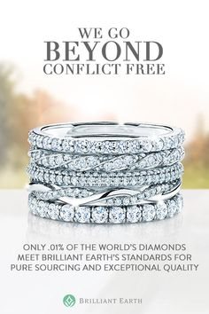 Our mission is to cultivate a more ethical, transparent and sustainable jewelry industry. To learn more and shop our collection of ethical wedding rings, visit us at https://www.brilliantearth.com/.