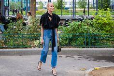 Best Street Style Fashion Week Spring 2018 | POPSUGAR Fashion