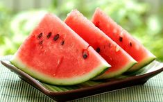 Watermelon may be one of the most appropriately named fruits. It is melon that is water . It is also got a healthy amount of Vitamin A and Vitamin C , potassium , magnesium , and other important nutrients. Eating Watermelon Seeds, Watermelon Cooler, Watermelon Slices, Watermelon Healthy, Watermelon Recipes, Watermelon Plant, Grilled Watermelon, Watermelon Nutrition, Clean Eating Tips