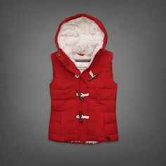 Sherpa Toggle Vest | Abercrombie.com | Check out our Pin To Win Challenge at http://on.fb.me/UfLuQd