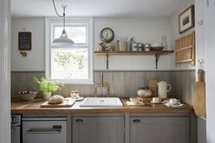 The kitchen is small but perfectly formed
