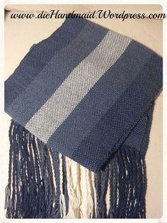kuschelweicher Schal mit Alpaca gewebt auf der Kromski Harfe Rigid Heddle Loom, scarf, weaving