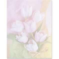 Spring Bouquet PaperFrames Border Papers by PaperDirect