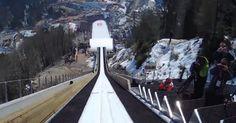 Skok narciarski z perspektywy skoczka – robi wrażenie!