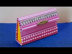DIY Project : Cute Paper Purse Making Tutorial for Girls | Easy Paper Ba...