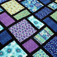 Mixed Feelings - PDF Quilt Pattern. $7.50, via Etsy.