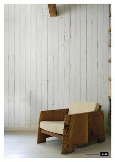 Scrap wood wallpaper