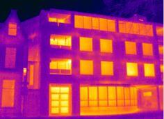 Vandaag deed Energiekeurplus onderzoek naar de oorzaken van #tochtklachten bij een appartement van Patrimonium in #Groningen met #thermografie.