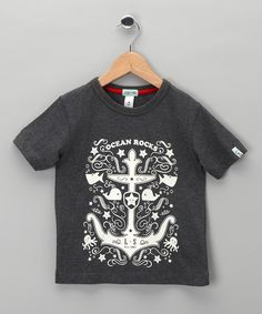 Gray Anchor Tee - Toddler & Boys