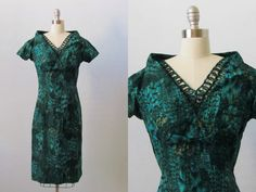 1960s Dress / 60s Dress / Wiggle Dress / by TheVintageMistress, $92.00