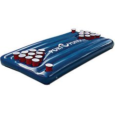 Um. It's a beer pong table that floats on water. Yes, please.