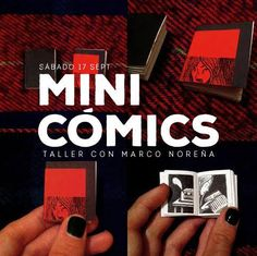 https://flic.kr/p/LKbCGE | Mini-cómics, taller. | MINI-CÓMICS TALLER CON MARCO…