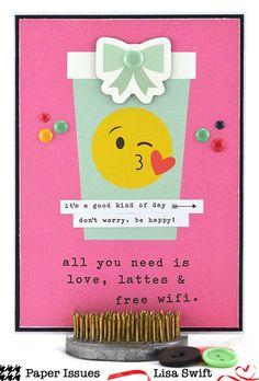 Paper Issues: Product Spotlight: Simple Stories Emoji Love Lisa Swift