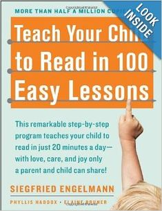 Teach Your Child to Read in 100 Easy Lessons: