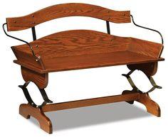 Amish Buckboard Bench