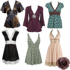 love the purple top. apple shaped body clothes - Google Search More