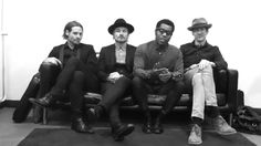 Vintage Trouble / A sweet message for The Troublemakers in Madrid