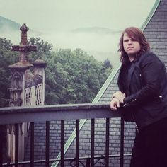 American Idol hopeful, Caleb Johnson hanging out at the Biltmore House in beautiful Asheville NC !