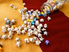100 Harry Potter Origami Stars. $10.00, via Etsy.