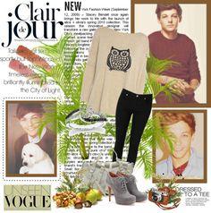"""Louis ♥"" by kasiurek12345 ❤ liked on Polyvore"