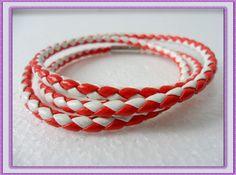 Adjustable  MulticolourLeather  Weave by jewelrybraceletcuff, $3.00
