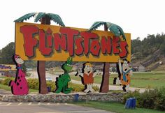 Take a trip to Bedrock City in South Dakota, maybe take time to see Mount Rushmore too.