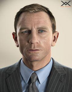 ArtStation - Daniel Craig portrait, Luc Bégin