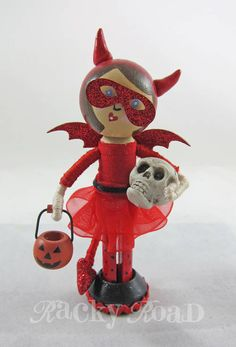 Halloween Trick or Treat Peg Dolls - OCCASIONS AND HOLIDAYS
