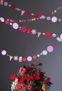 Colorful Shape Garland!