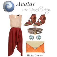 """""""Avatar Aang"""" by hautegamer on Polyvore"""