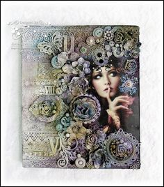 Hello everyone,    i am here today to share my collage canvas i made for this month Prima product pick .I absolutely loved the colors this ...