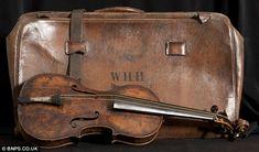 Wallace Hartley. Violin