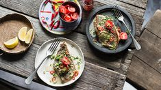 Pan-fried mulloway fillets in lemongrass and chilli recipe | Luke Nguyen's Food Trail recipes | SBS Food