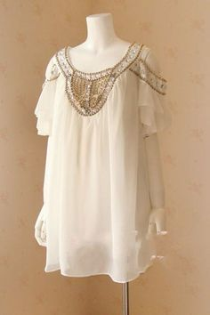Stunning!! Oscar Fashion Jeweled Open Shoulder Strappy Chiffon Dress $50.00