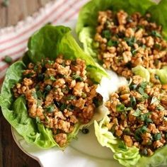 Inspired by PF CHangs' famous recipe, these healthy turkey lettuce wraps are quick and easy to make and are full of so much flavor!