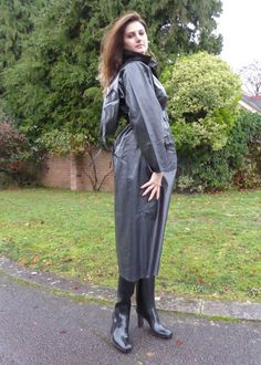 Pvc Raincoat, Plastic Raincoat, Rubber Raincoats, Rain Wear, Black Rubber, Black Cotton, Rain Boots, Duster Coat, Lady