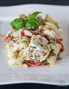 Tortellonisalat mit Ricottacreme - Das Küchengeflüster