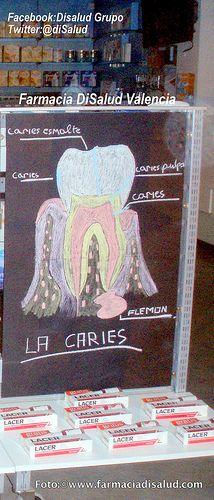 Información #Dental Caries. Farmacia DiSalud promueve la Salud Dental y Bucal  *Más info:  www.facebook.com/DiSaludGrupoenValencia ;  twitter.com/disalud ; disalud.tumblr.com/