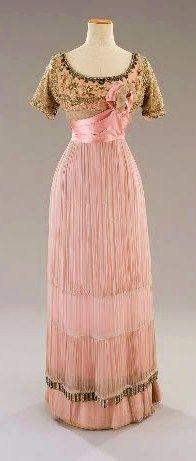 pink edwardian dress