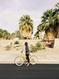 biking in Palm Springs