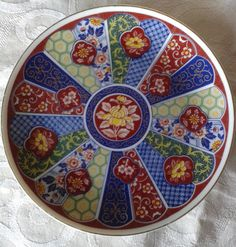 Gorgeous Vintage Japanese Imari Plates – Set of Two Vintage Pottery, Plate Sets, Vintage Japanese, Decorative Plates, Cool Stuff, Tableware, Etsy, Collections, Asian