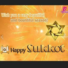 HAPPY SUKKOT (BOOTHS/TABERNACLES & INGATHERING)! DAY: 3 Get Your Joy/Praises On! Still Something To Be Thankful! 5 Days Left!