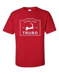 Truro Cape Cod short sleeve t-shirt