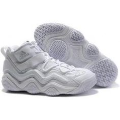 Adidas Top Ten 2000 Retro(Kobe Bryant Shoes) in all white  7bbc7cb9c