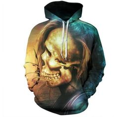 Cheap sweatshirts with, Buy Quality thin hoodie directly from China sweatshirt men Suppliers: New Stylish Men/Women Sweatshirts With Hat Print Skulls Hooded Autumn Winter Thin Hoodies Hoody Tops Hoodies For Teens, Style Hip Hop, Mode 3d, Skull Hoodie, Skull Face, Skull Head, Skull Print, Halloween Skull, Colors