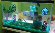 Super Mario Bros Seaside Scene Set | Sprite Stitch