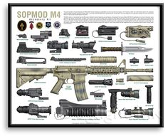 Armas U. Military Weapons, Weapons Guns, Guns And Ammo, Military Brat, M4 Carbine, Tactical Equipment, Tactical Gear, M4 Accessories, Rifles